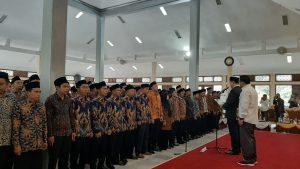 Pelantikan Anggota PPK Pilkada Pandeglang 2020